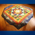 Tibetan Quilted Table Cloth