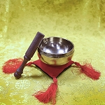 Singing Bowl with Double-Sided Cushion