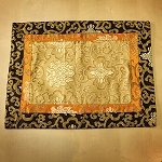 Altar Cloth - Silk Lotus Pattern