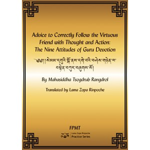 Advice to Correctly Follow the Virtuous Friend with Thought and Action: The Nine Attitudes of Guru Devotion eBook & PDF