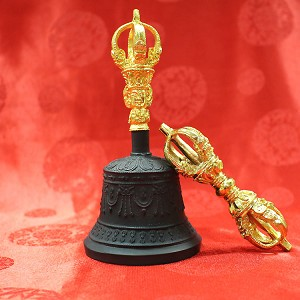 Dorje and Bell - High Quality Blackened Small