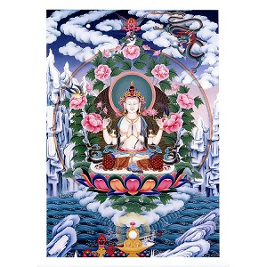 Four-Armed Avalokiteshvara Poster