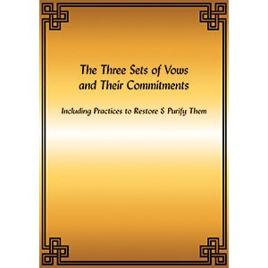 Three Sets of Vows and Their Commitments PDF