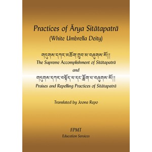 Practices of Arya Sitatapatra (White Umbrella Deity) PDF
