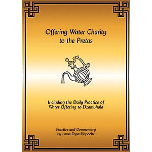Offering Water Charity to the Pretas PDF