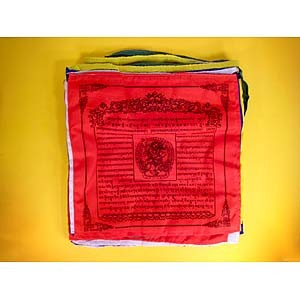 Lion Face Dakini Prayer Flags (Seconds)