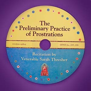Practice of Prostrations to the 35 Buddhas MP3 CD